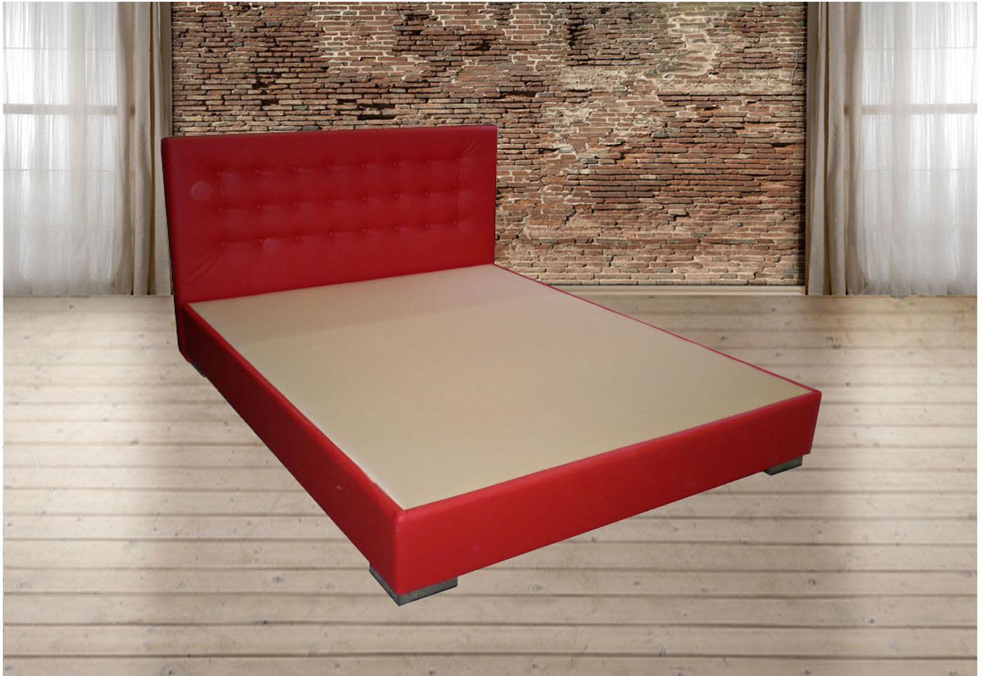 Κρεβάτι επενδυμένο