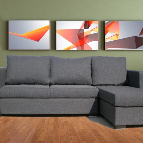Αφροδίτη  σαλόνι γωνία  270x160cm